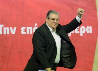 ΚΚΕ: Τα ψηφοδέλτια παρουσίασε ο ΓΓ Δημήτρης Κουτσούμπας