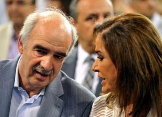 Ντόρα Μπακογιάννη, Βαγγέλης Μεϊμαράκης, συναντήθηκαν,