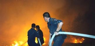 Βάρκιζα: Πυρκαγιά στο ύψος του Ribas