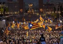 ΚΑΤΑΛΟΝΙΑ: 450.000 άνθρωποι στους δρόμους υπέρ της ανεξαρτησίας