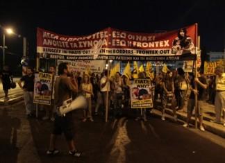 Πορεία του ΠΑΜΕ και φοιτητικών συλλόγων στην Ελευσίνα