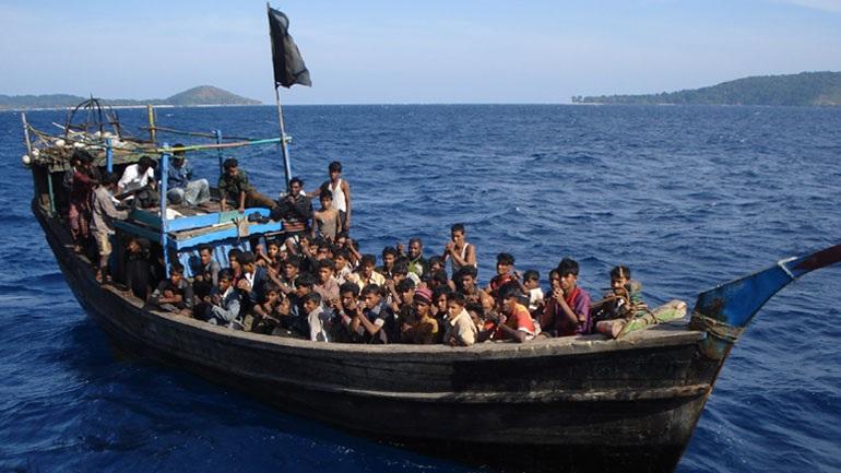 πρόσφυγες, περιορισμένες, ροές, νησιά,