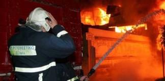 Ολοσχερώς καταστράφηκε τελικά το ποιμνιοστάσιο στο Αργυροπούλι Τυρνάβου