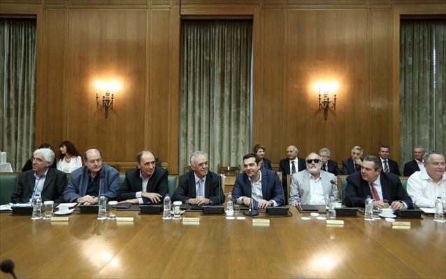 υπουργικό συμβούλιο, συνεδριάζει,