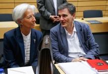 Τσακαλώτος-Λαγκάρντ: Χρέος και εφαρμογή του προγράμματος του ΔΝΤ για την Ελλάδα