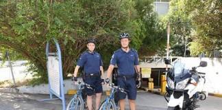 Κέρκυρα, ποδηλάτες, αστυνομικοί,