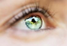 μάτια, δείχνουν, εγκαφαλικό,