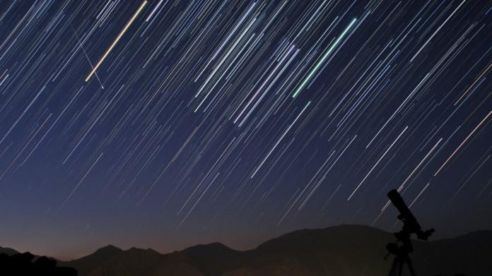 Την Δευτέρα το βράδυ θα δούμε εντυπωσιακή βροχή αστεριών