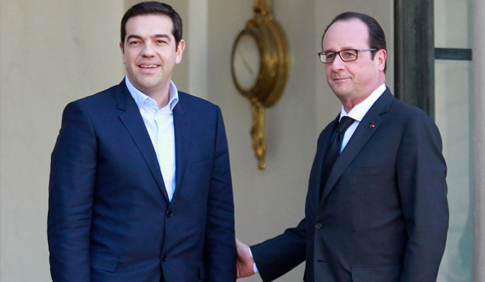 Τι συζήτησαν Τσίπρας-Ολάντ στο Παρίσι