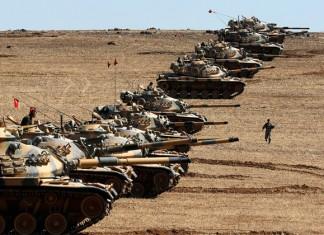 Τουρκικά, άρματα μάχης, Συρία,