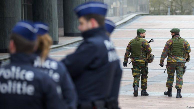 Βέλγιο, επιχείρηση, αντιτρομοκρατικής,