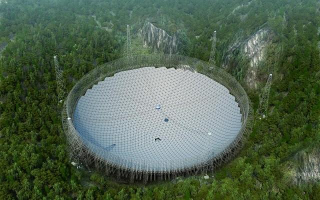 Κίνα, ραδιοτηλεσκόπιο, μεγαλύτερο,