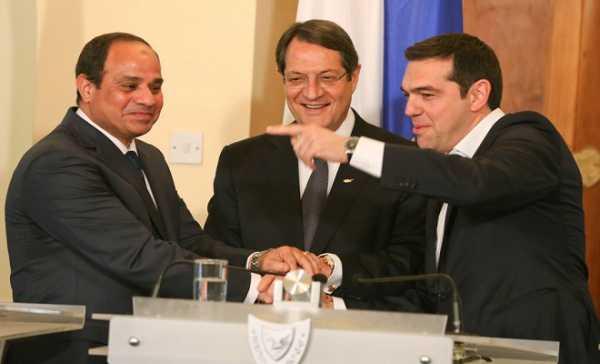 τριμερείς,Ελλάδα,Κύπρος,Αίγυπτος,