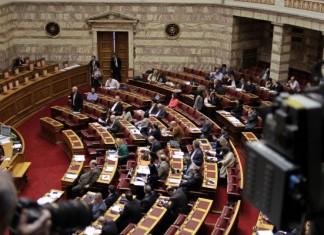 Τσίπρας, Θεοδωράκης, Βουλή
