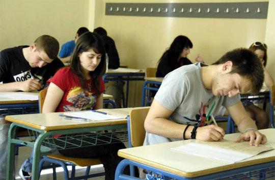 Πρεμιέρα των πανελλαδικών εξετάσεων