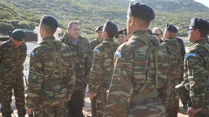 Επίσκεψη Καμμένου στη Σύρνα και την Αστυπάλαια
