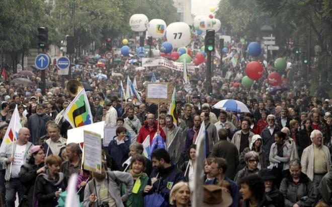 Γαλλία, διαδηλώσεις, επεισόδια,