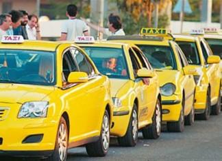 Ένταση στην συγκέντρωση των οδηγών ταξί