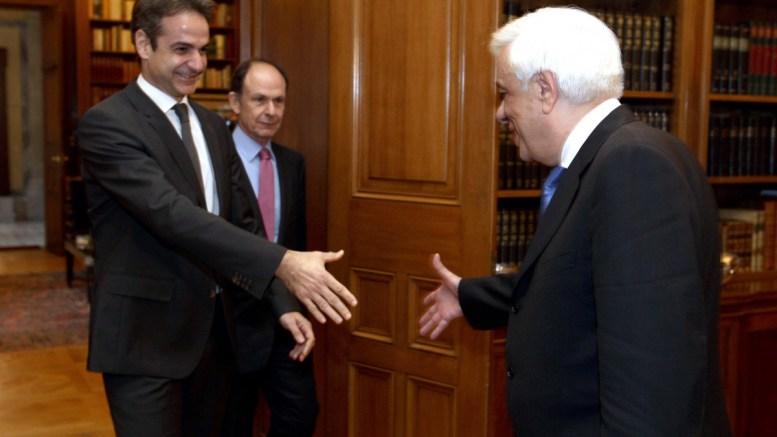 Τετ-α-τετ, Πρόεδρο Δημοκρατίας, Μητσοτάκης, εξέφρασε, ανησυχία, προσφυγικό,