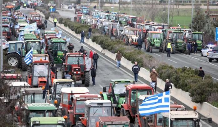 αγρότες, δρόμους,
