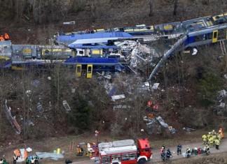 Γερμανία, Δέκα νεκροί, σιδηροδρομικό δυστύχημα,