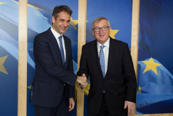 εκίνησε σήμερα η διήμερη επίσκεψη στις Βρυξέλλες του προέδρου της Νέας Δημοκρατίας Κυριάκου Μητσοτάκη