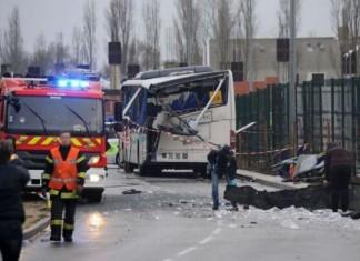 Γαλλία, 6 μαθητές νεκροί, τραγικό δυστύχημα,
