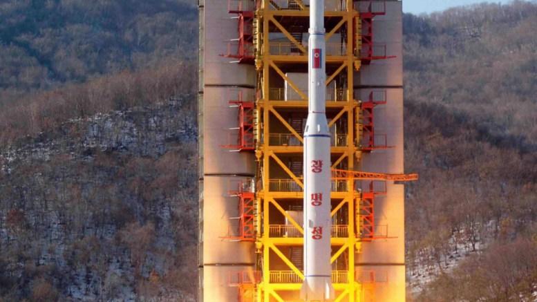Βόρεια Κορέα, νέα, εκτόξευση πυραύλου,