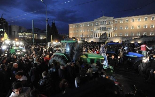 Νέο συλλαλητήριο, αποκλείουν, το κέντρο, αγρότες,