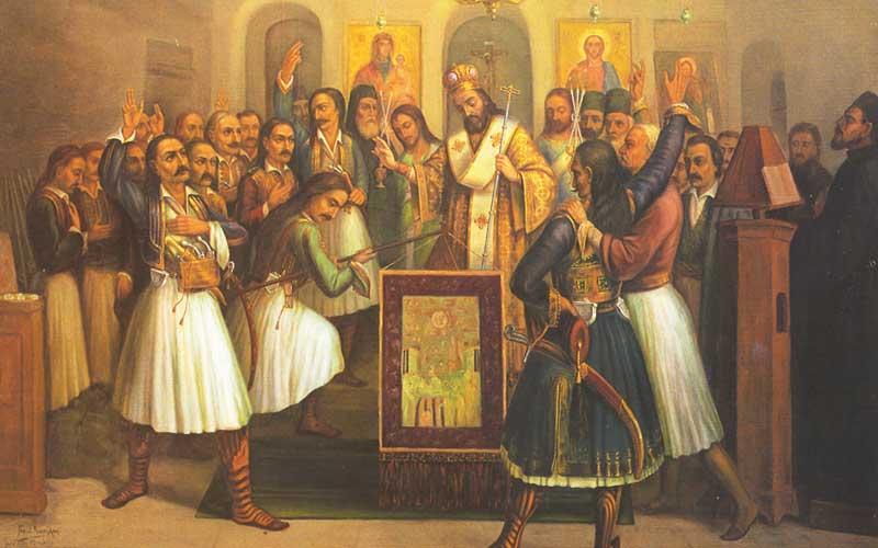 1821,Έλληνες, επαναστάτες, καταλαμβάνουν, Καλάβρυτα,