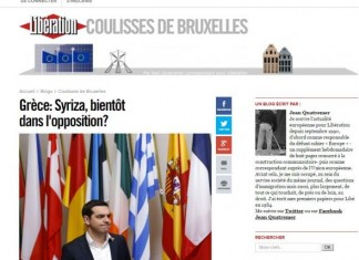 Liberation,Εκλογές,Τσίπρα,αντιπολίτευση,
