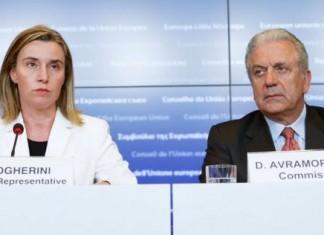 Μογκερίνι, Αβραμόπουλος, χαιρετίζουν, συμφωνία, ΝΑΤΟ, frontex,,