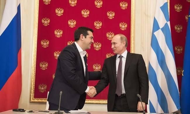 Τηλεφωνική επικοινωνία Τσίπρα-Πούτιν