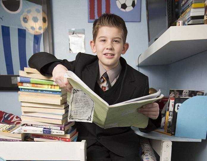 11 χρονών, IQ, ξεπέρασε, Αινστάιν,
