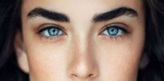γυναίκες, ανοιγοκλείνουν, μάτια,