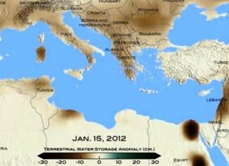 ΝΑΣΑ, πρόβλημα, θερμοκρασία, ανατολική Μεσόγειο,