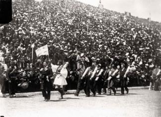 Σπύρος Λούης, έκοψε νήμα, πρώτους Ολυμπιακούς Αγώνες,