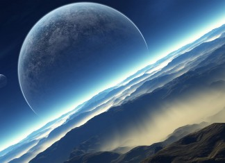 ομορφιά, Γης, διαστημικό σταθμό,