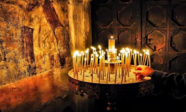 αναμμένο, κερί, συμβολισμός,