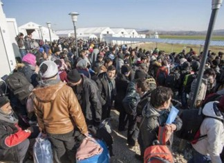 Χίος, επεισόδια, μεταναστών, προσφύγων,