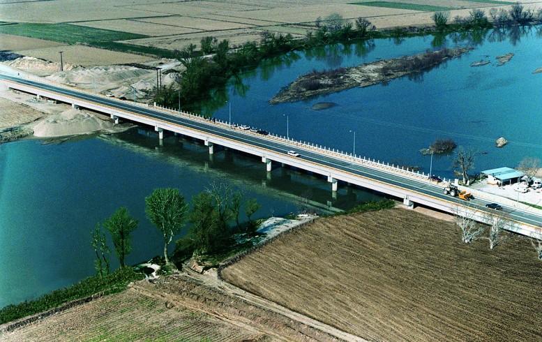 γέφυρα, Αξιού,στην κυκλοφορία,