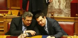 Συμφωνία Τσίπρα-Καμμένου: Κανένας βουλευτής των ΑΝΕΛ σε ψηφοδέλτια του ΣΥΡΙΖΑ