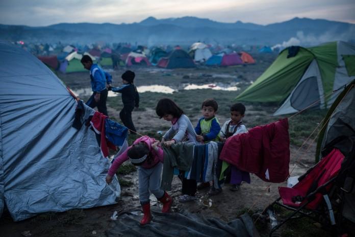 Ειδομένη, συμπλοκές,προσφύγων,