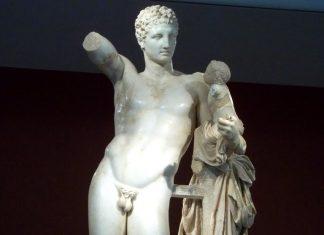 Ερμής Πραξιτέλη, ανακάλυψη, 1877,