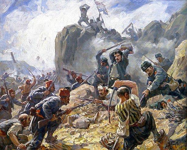 Ρωσία, Τουρκία, πόλεμος, 1877,