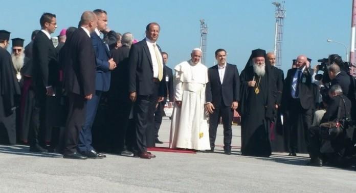 Μυτιλήνη, Πάπας,Βαρθολομαίος,Ιερώνυμος,