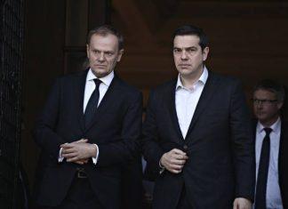 Τσίπρας, Τούσκ, Eurogroup, Σύνοδο Κορυφής,