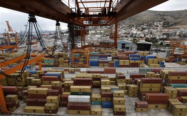 Αύξηση 13,6% στις εξαγωγές το πρώτο τρίμηνο του 2018