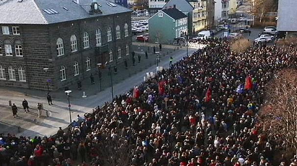 Ισλανδία, διαμαρτυρία, άμεσα εκλογές,