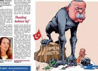 Ολλανδική εφημερίδα, Ερντογάν, πίθηκος,